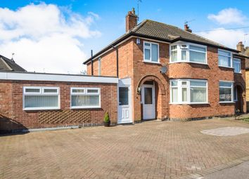 Thumbnail 4 bed semi-detached house for sale in Mayfield Drive, Wigston, Leicestershire