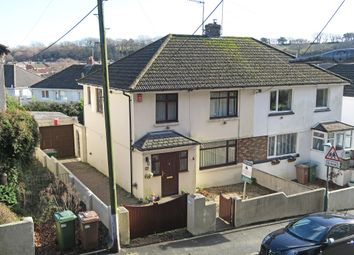 Thumbnail 3 bed semi-detached house for sale in Reservoir Road, Elburton, Plymouth