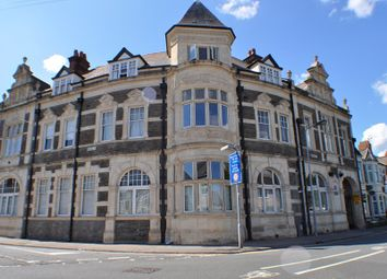 Thumbnail 2 bedroom flat to rent in Moorland Road, Cardiff