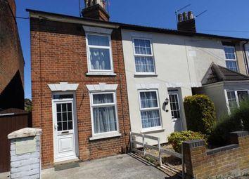Thumbnail 2 bed end terrace house for sale in Nottidge Road, Ipswich, Suffolk