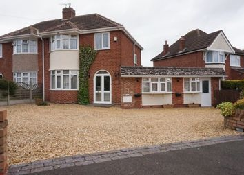 Thumbnail 4 bed semi-detached house for sale in Springfield Crescent, Walmley, Sutton Coldfield