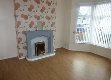 Thumbnail 2 bed terraced house to rent in Sandringham Road, Hartlepool