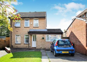 Thumbnail 3 bedroom detached house for sale in Kingfisher Close, St Mellons, Cardiff