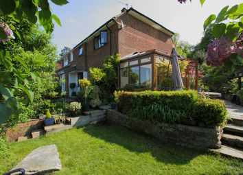 Thumbnail 3 bed semi-detached house for sale in Bere Hill Crescent, Andover