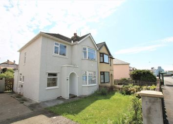 Thumbnail 3 bed semi-detached house for sale in Victoria Road, Castletown, Isle Of Man