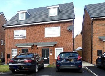 Thumbnail 4 bed semi-detached house for sale in Stratford Drive, Prescot