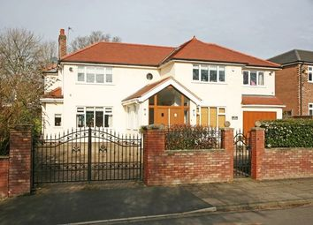 Thumbnail 5 bed detached house for sale in Sefton Drive, Worsley, Manchester