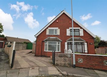 Thumbnail 2 bed semi-detached house for sale in Burton Crescent, Sneyd Green, Stoke-On-Trent
