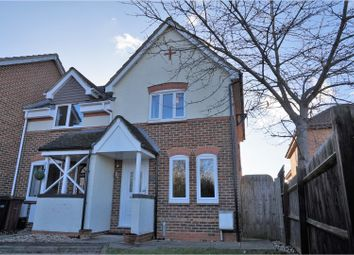 Thumbnail 2 bed end terrace house for sale in Humber Close, Didcot