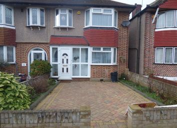 Thumbnail 3 bed semi-detached house to rent in Shaldon Drive, Morden