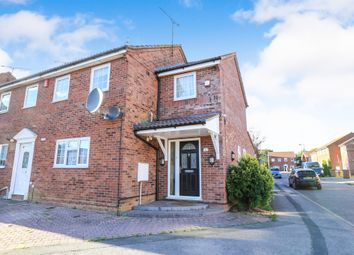 Thumbnail 3 bedroom semi-detached house for sale in Barnston Close, Luton
