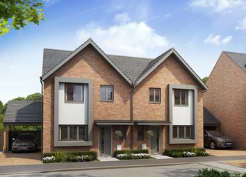 "Thumbnail 3 bedroom semi-detached house for sale in ""The Chester"" at Power Station Road, Minster On Sea"