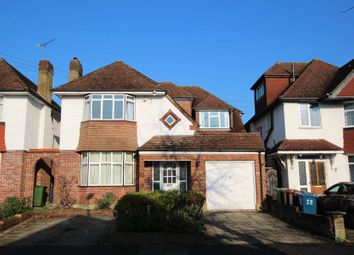 Thumbnail 4 bed detached house to rent in Glover Road, Pinner
