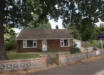 Thumbnail 2 bed detached bungalow for sale in Hereward Way, Weeting, Brandon