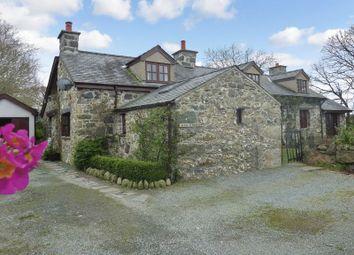 Thumbnail 4 bed property for sale in Llanfaglan, Caernarfon, Gwynedd.