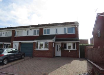 Thumbnail 3 bed end terrace house for sale in Letchlade Close, Coventry