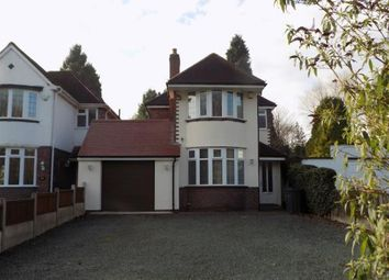 Thumbnail 4 bed detached house for sale in Chester Road North, Streetly, Sutton Coldfield