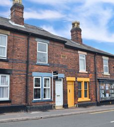 3 bed terraced house for sale in Uttoxeter Old Road, Derby, Derbyshire DE1