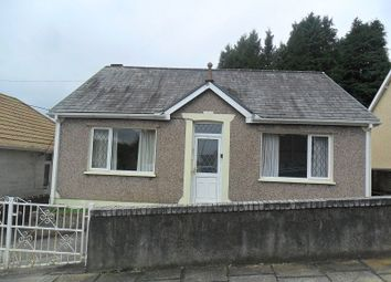 Thumbnail 3 bedroom detached bungalow for sale in Davies Road, Pontardawe, Swansea.