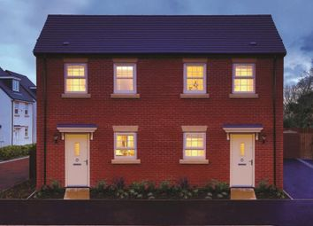 Thumbnail 2 bedroom semi-detached house for sale in Coach House Mews, Newhall, Swadlincote