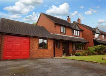 Thumbnail 4 bed detached house for sale in Ashley Walk, Orleton, Ludlow