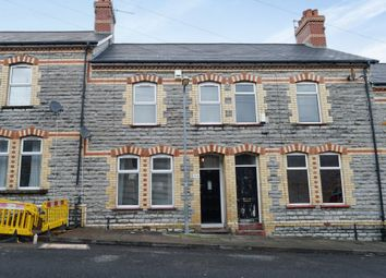 Thumbnail 4 bed terraced house for sale in Harvey Street, Barry