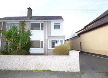 Thumbnail 3 bed semi-detached house for sale in Rhos Uchaf, Bangor, Gwynedd