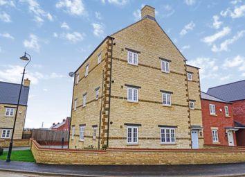 Thumbnail 2 bed flat for sale in Poppyfield Road, Wootton Fields, Northampton