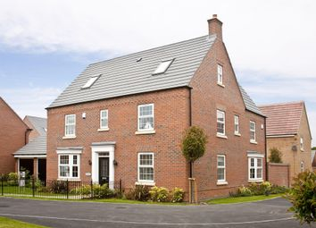 "Thumbnail 5 bed detached house for sale in ""Moorecroft"" at Newton Lane, Wigston"