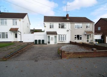 Thumbnail 3 bed semi-detached house for sale in Kenpas Highway, Styvechale, Coventry
