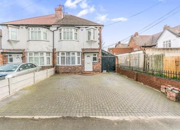 Thumbnail 3 bedroom semi-detached house for sale in Twyford Road, Hodge Hill, Birmingham, West Midlands