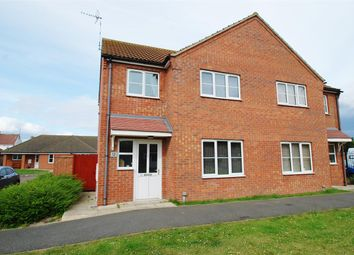 Thumbnail 2 bed semi-detached house for sale in Wells Close, Winthorpe, Skegness