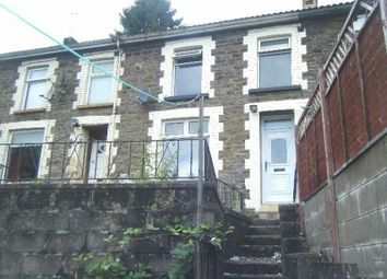 Thumbnail 3 bed terraced house to rent in Court Place, Tonypandy, Rhondda Cynon Taff.