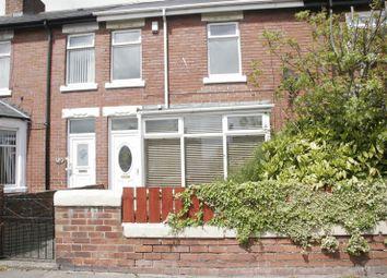 Thumbnail 3 bed terraced house to rent in Newbiggin Road, Ashington