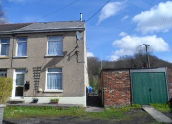Thumbnail 3 bedroom semi-detached house for sale in Heol Tredeg, Upper Cwmtwrch, Swansea