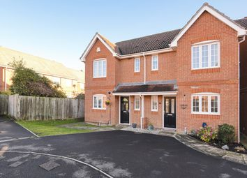 Thumbnail 3 bed semi-detached house for sale in Balsan Close, Park Village, Basingstoke