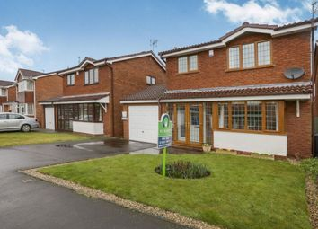 Thumbnail 3 bed detached house for sale in Leasowe Drive, Perton, Wolverhampton