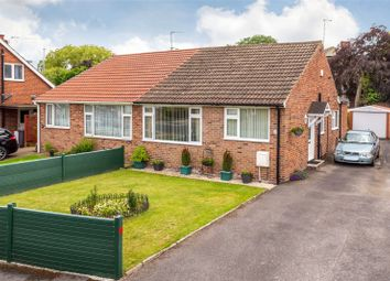 Thumbnail 2 bedroom semi-detached bungalow for sale in Orchard Drive, Hambleton, Selby