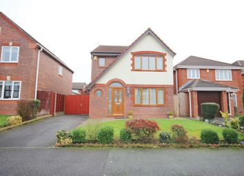 Thumbnail 3 bed detached house for sale in Moxon Way, Ashton-In-Makerfield, Wigan, Lancashire