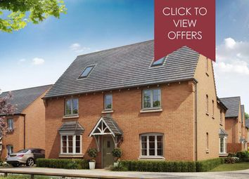"Thumbnail 5 bed detached house for sale in ""Moorecroft"" at Shrewsbury Court, Upwoods Road, Doveridge, Ashbourne"