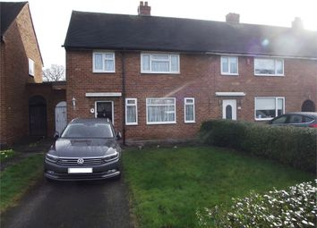 Thumbnail 3 bedroom end terrace house to rent in Brownfield Road, Shard End, Birmingham