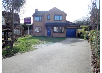 Thumbnail 4 bed detached house for sale in Dawes Close, Greenhithe
