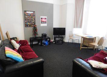Thumbnail 5 bedroom terraced house to rent in Salisbury Road, Wavertree, Liverpool