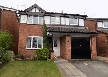 Thumbnail 4 bed detached house for sale in Hill View Rise, Northwich