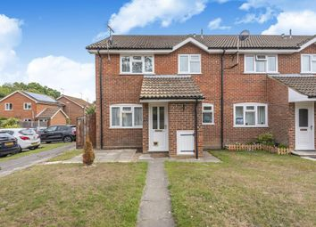 Thumbnail End terrace house to rent in Lightwater, Surrey