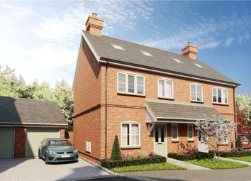 Thumbnail 3 bedroom semi-detached house for sale in Dunleys Hill, Odiham, Hook