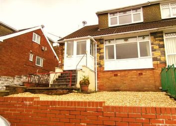 Thumbnail 3 bedroom semi-detached house for sale in Kimberley Way, Porth