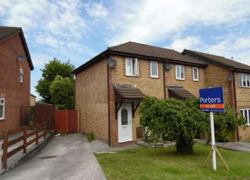 Thumbnail 2 bed semi-detached house to rent in Oak Tree Court, Brackla, Bridgend