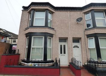 Thumbnail 2 bedroom end terrace house to rent in Scott Street, Bootle