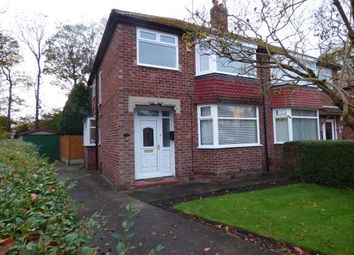 Thumbnail 3 bed semi-detached house for sale in Rothesay Crescent, Sale, Greater Manchester